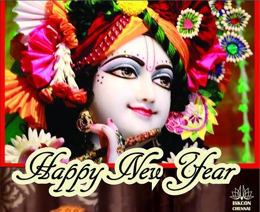 How devotees of Krishna celebrate New Year
