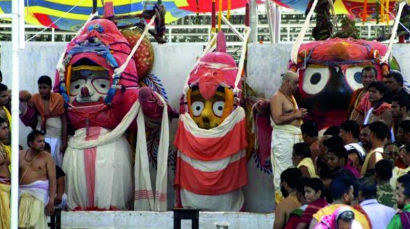 When Lord Jagannath gets sick