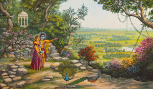 What does it mean to live in Vrindavan?