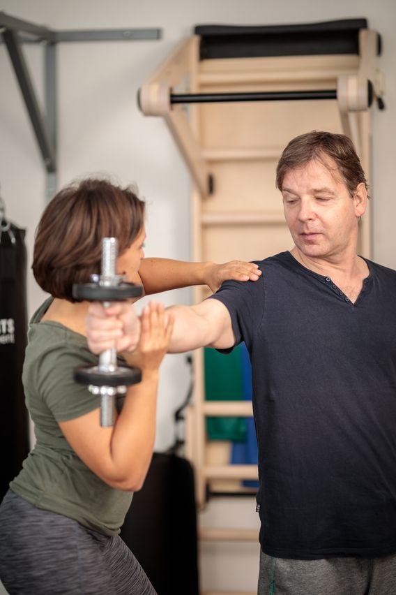 Sportphysiotherapie für die Schulter
