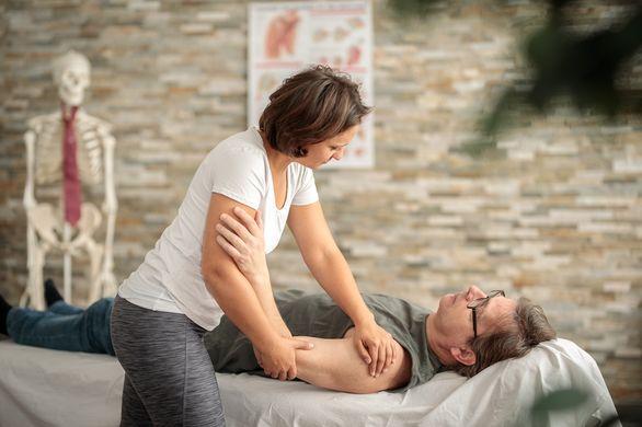 Schulterbehandlung nach Trauma