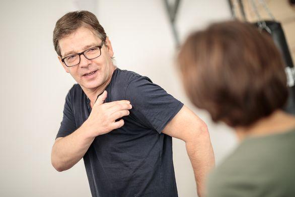schmerzhafte Schulter in der Orthopädie