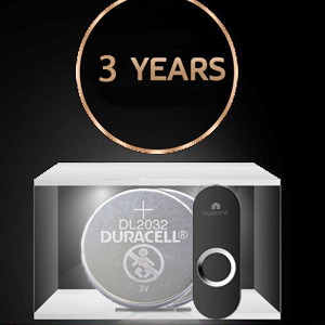 black opal doorbell button midnight square wireless doorbell