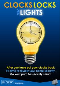 Police ClocksLocksLightst