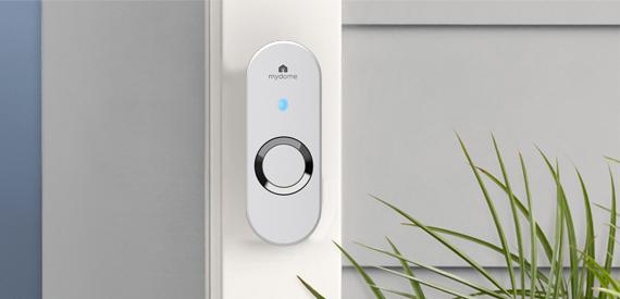 mydome wireless doorbell pearl loud