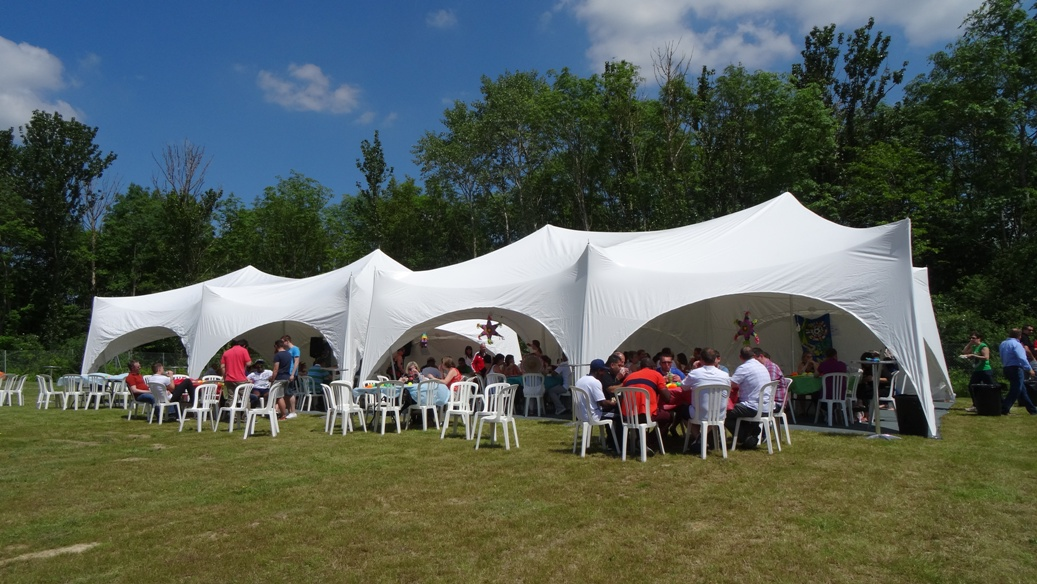 marquee for corporate event