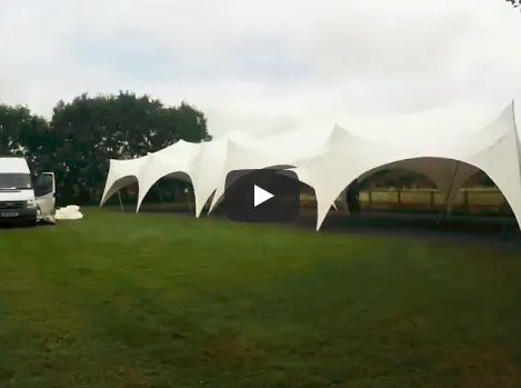 Setting up marquees