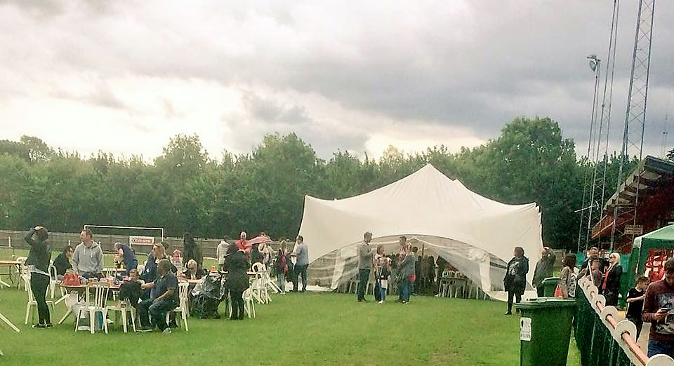 presentation evening marquee