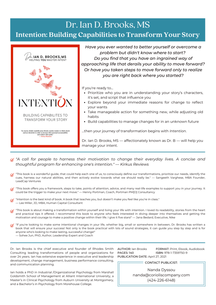 Intention Sell Sheet