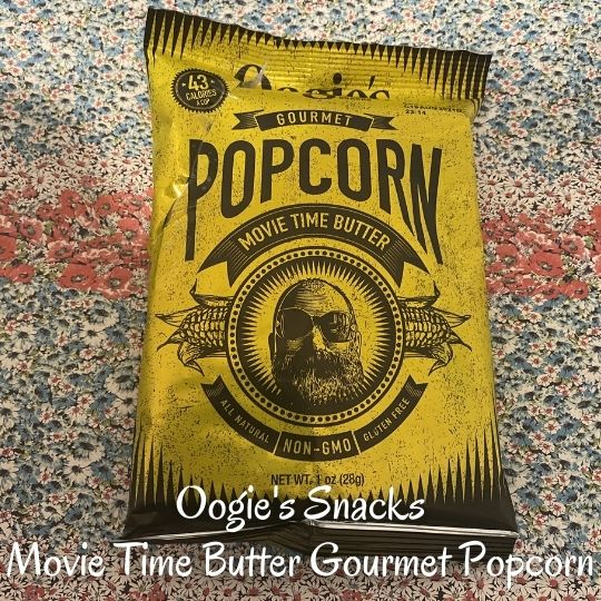 1. Oogie's Snacks - Movie Time Butter Gourmet Popcorn