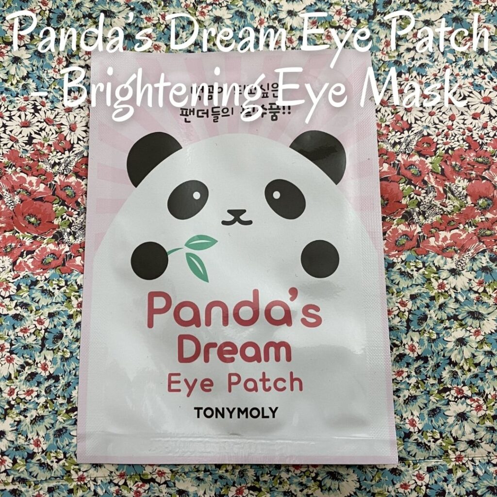 Panda's Dream Eye Patch - Brightening Eye Mask