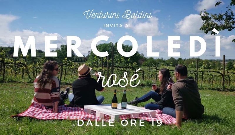 Mercoledì Rosé | Aperitivo | Tenuta Venturini Baldini