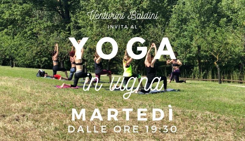 Yoga in vigna | Venturini Baldini
