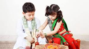 brother and sister Raksha-Bandhan Festival