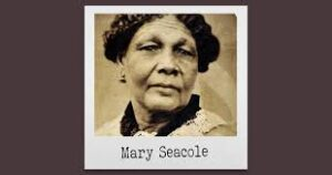 "Mary Seacole, British-Jamaican nurse, healer and businesswoman who set up the ""British Hotel"" behind the lines during the Crimean War."