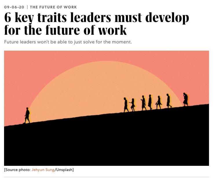 6 key traits leaders must develop