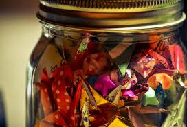 काँच के मर्तबान में - glass jar