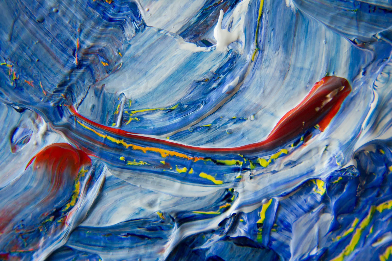अक्स - An Abstract Painting