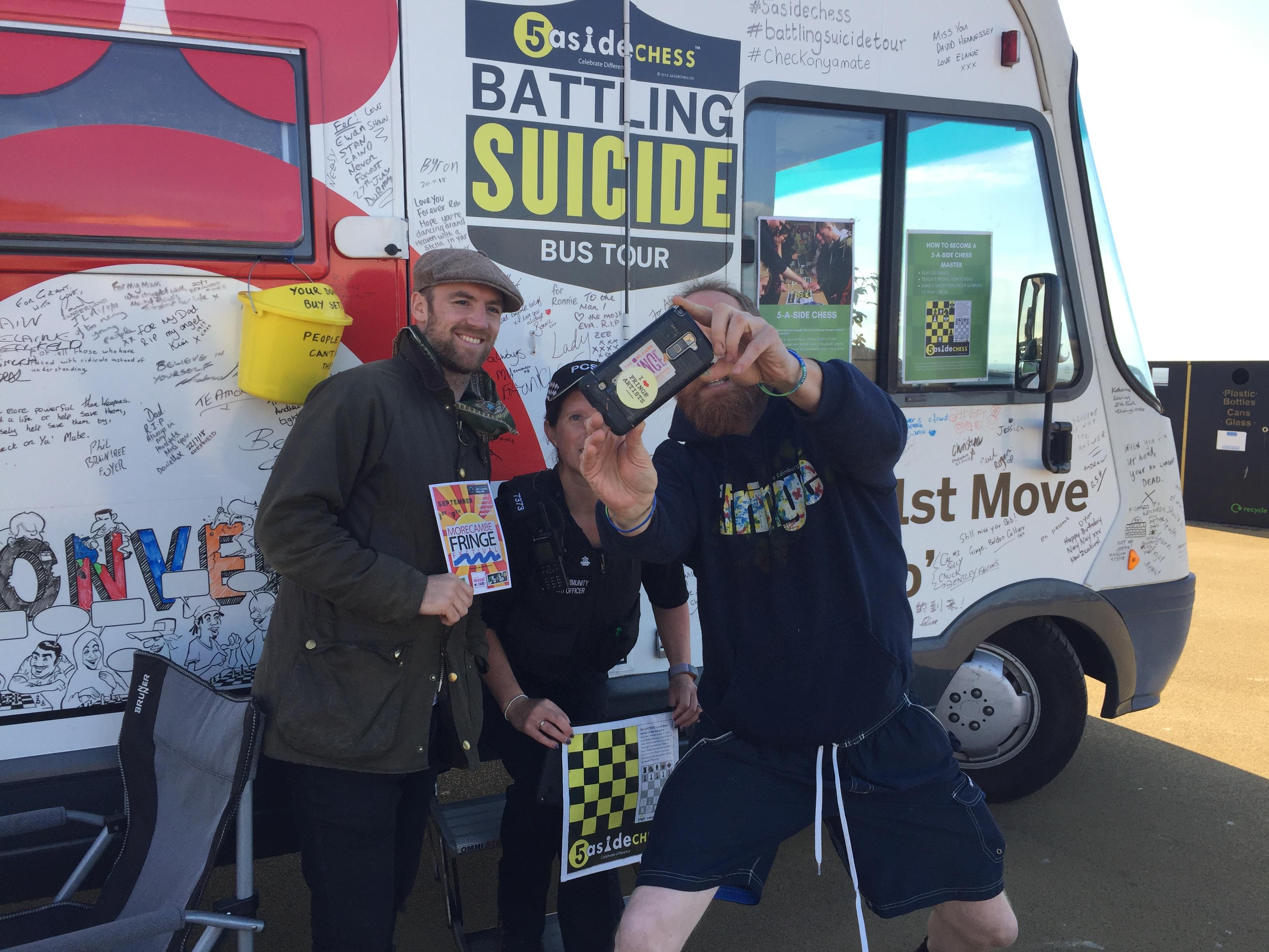 battling suicide morecambe