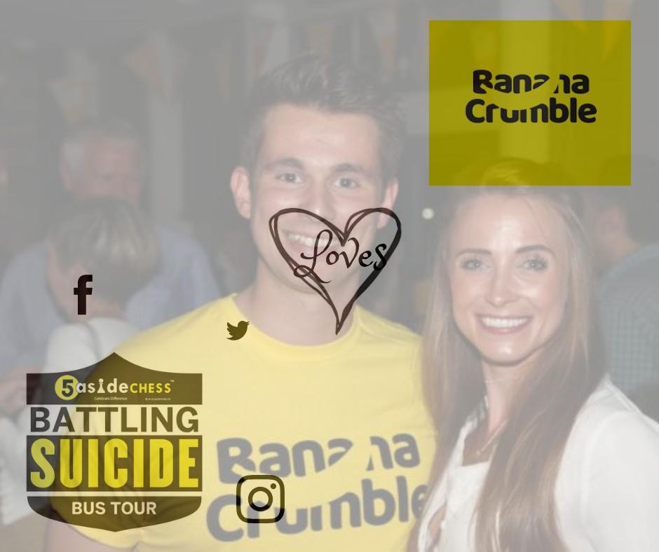 5asidechess..Banana Crumble charity