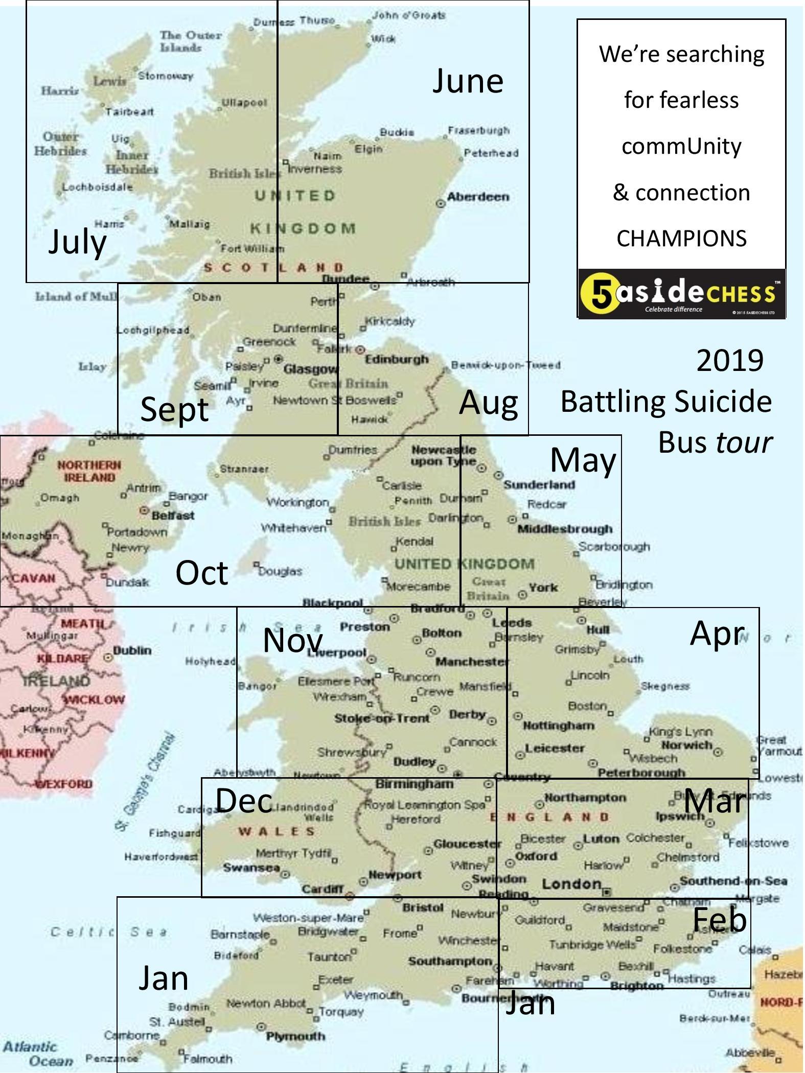battling suicide tour