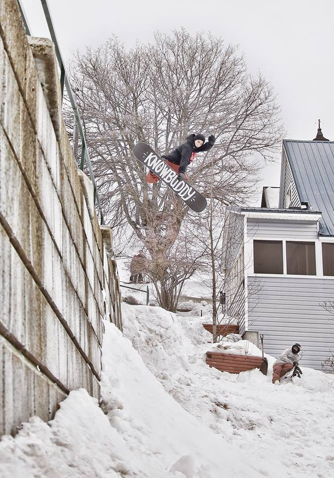 Method to wallride from Zach's next level full part. Photo: Jimmy Sira