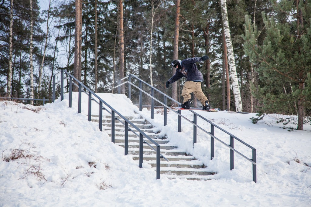 Taking the Dome skills to Helsinki with this bossman Back lip. Photo: James North http://jnorth.co.uk