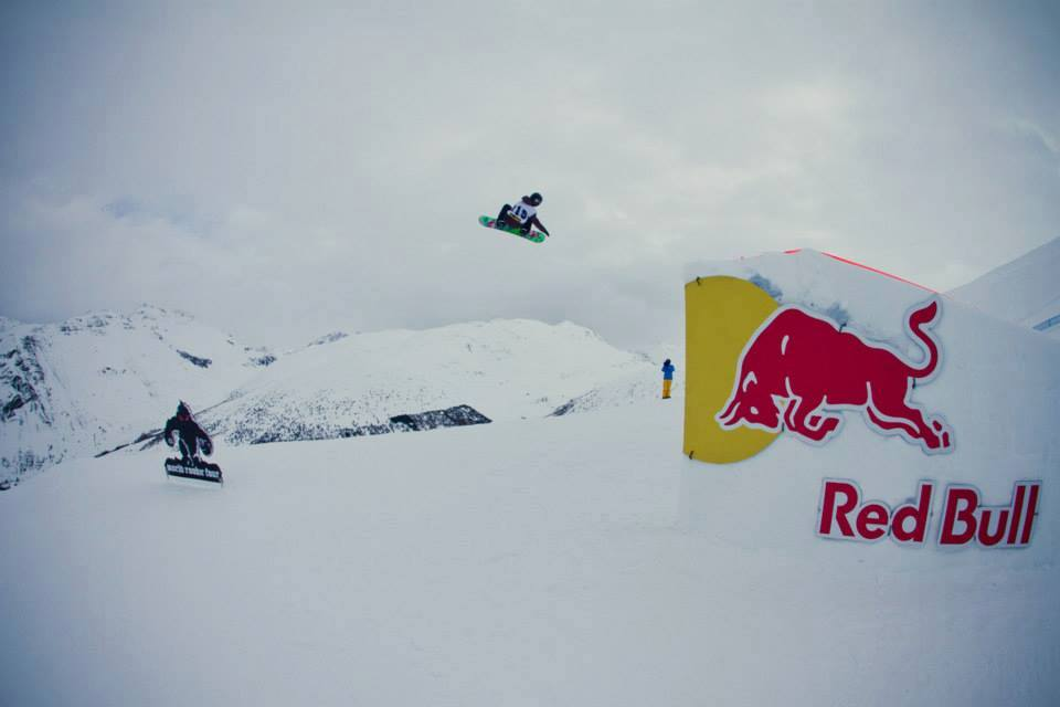 Rene flying high at the World Rookie Tour. Photo: Gustav Ohlsson