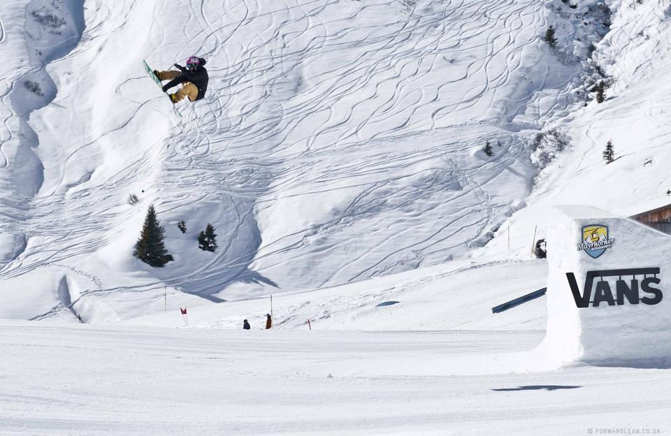 Scots abroad. sw back 5 in Mayrhofen. Photo: Greg Stevens