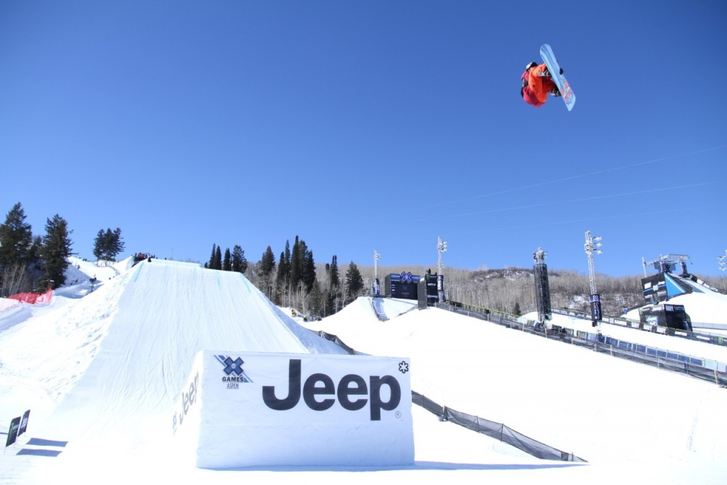 Getting it done at the X-Games. Photo: Thomas Harstad