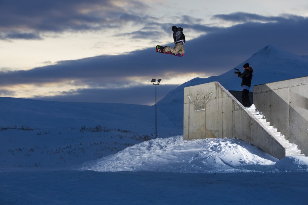 Who needs parks when you've got creativity? Photo: Cyril Müller