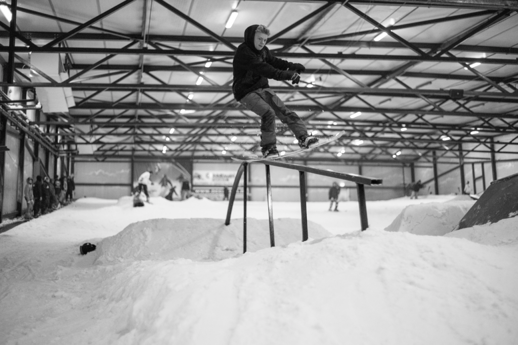 Pre rock a rail dome business. Photo: Hidde Hageman