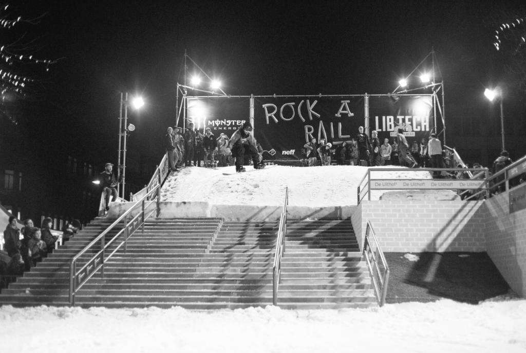 Gap to board at Rock A Rail Photo: Hidde Hageman