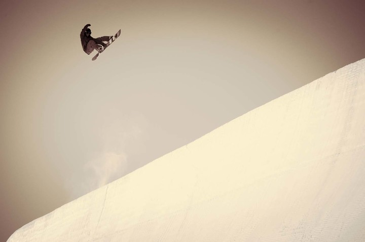 Boostng in Vail back in 2013. Photo: Blotto