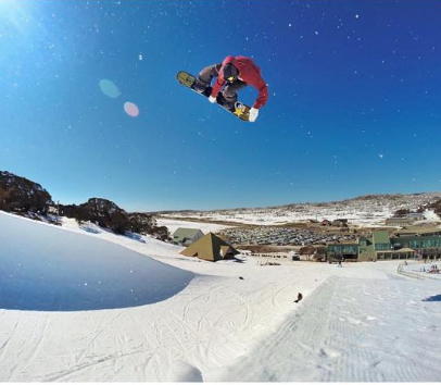 Clothing deals= more travel, Brage taking full advatage with some pipe action in Australia. Photo: Thomas Harstad