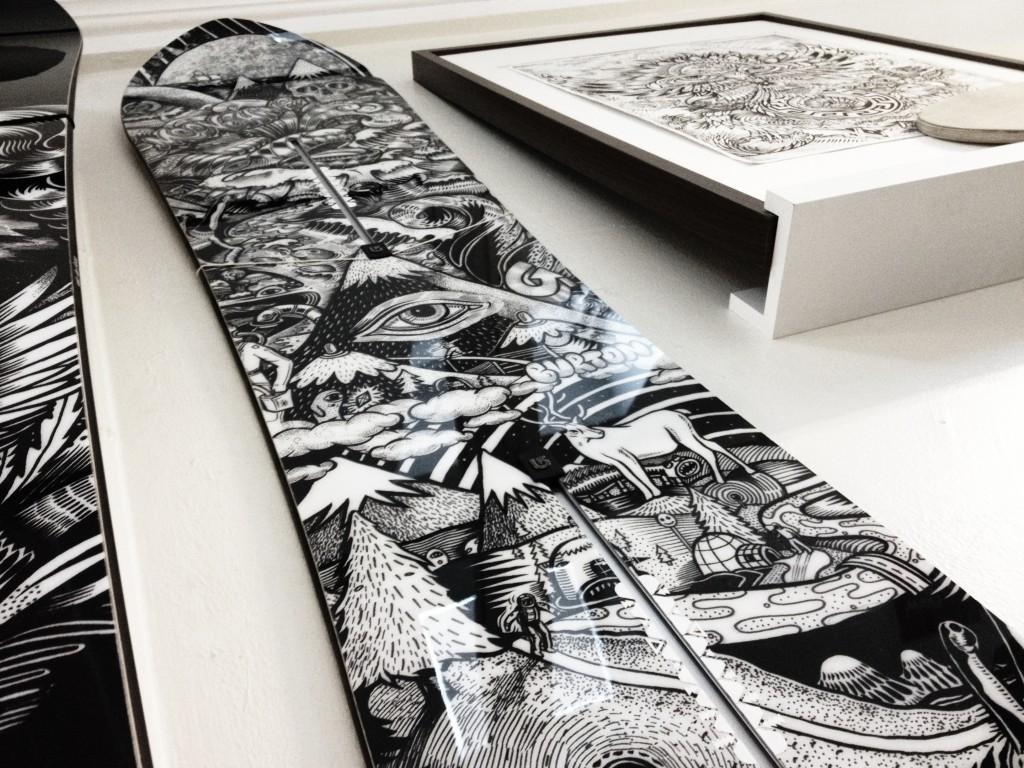 Pj's winning Burton Snowboard graphic