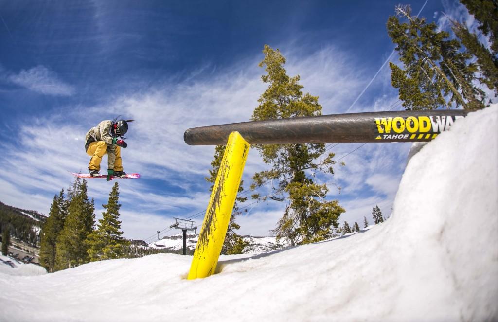 Woodward jibbing. Photo: Danny Kern