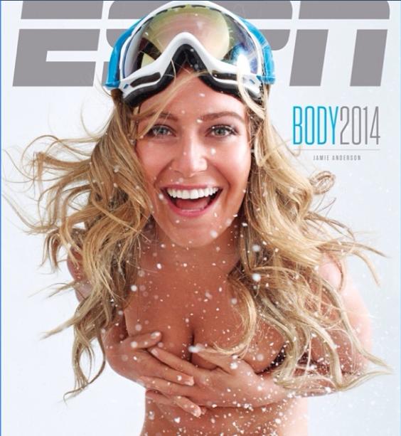 That ESPN cover. Photo: ESPN