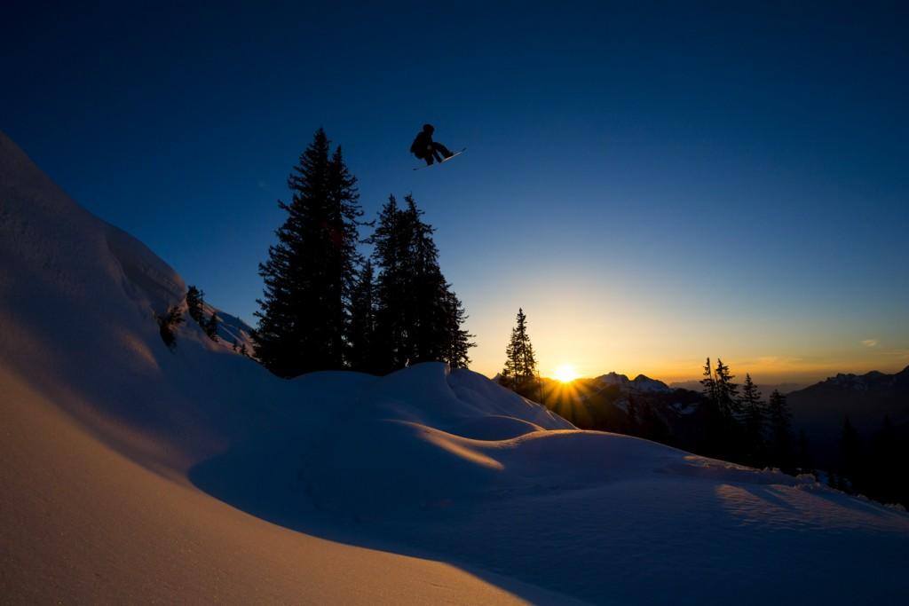 Out in Arlberg's wonderland Photo: Cyril Mueller