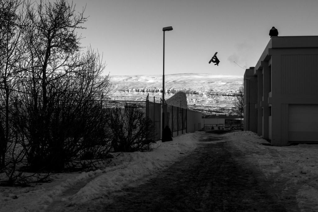 Heavy Icelandic gap. Photo: Cyril Müller