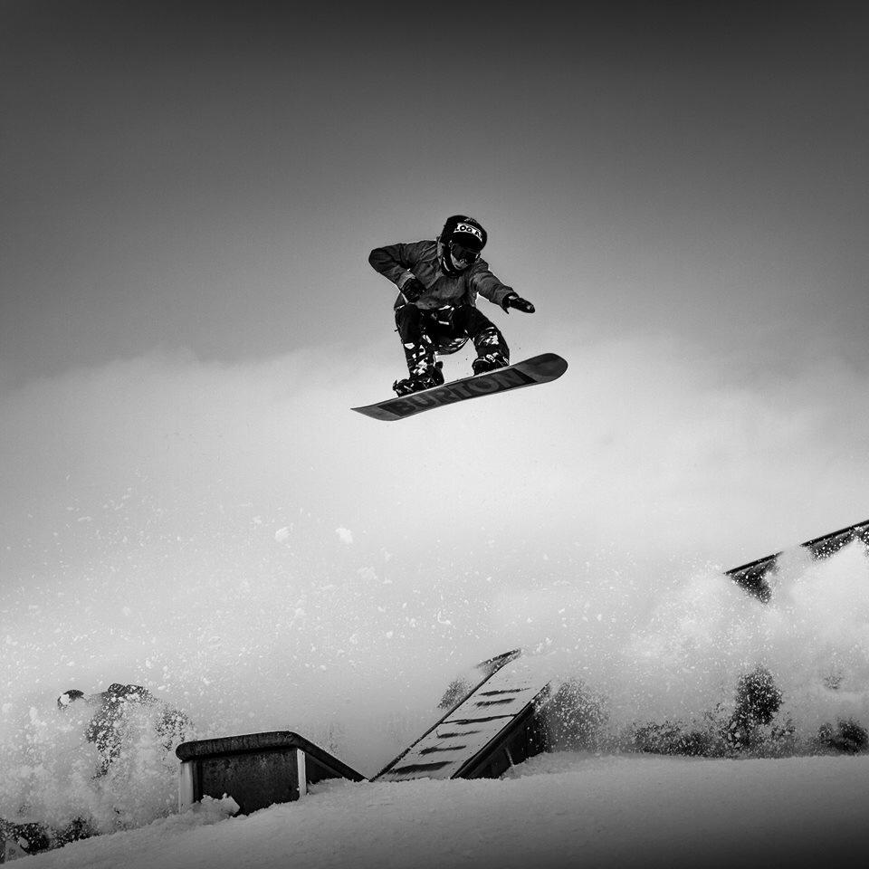 Escaping the sprays with a FS Nosebone Photo: Fischi