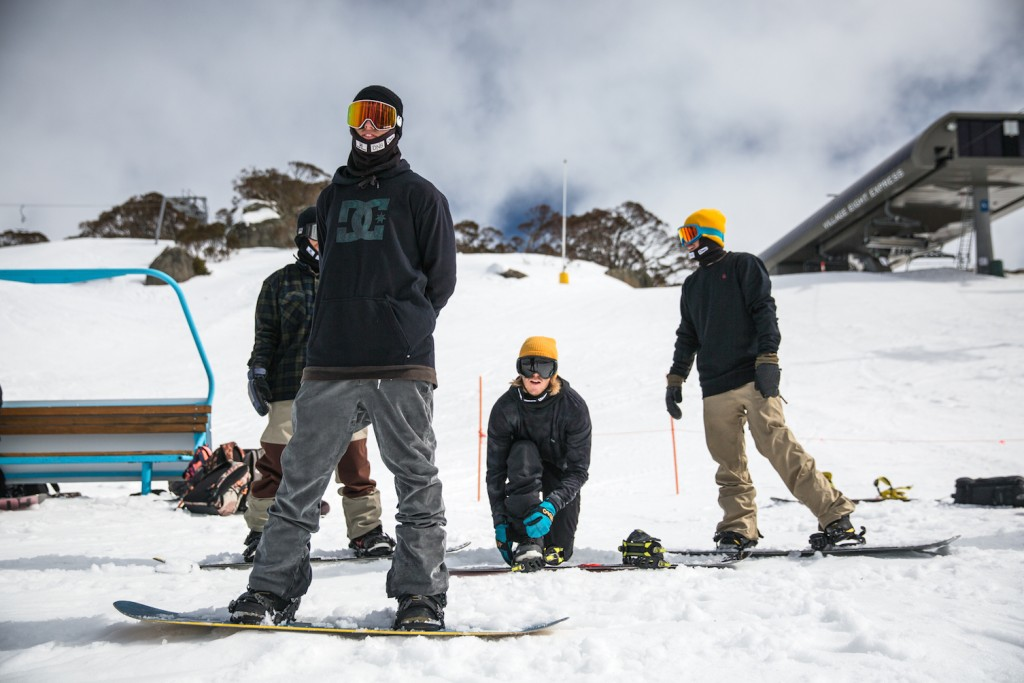 Rolling deep with team Norway. Photo: Process Films