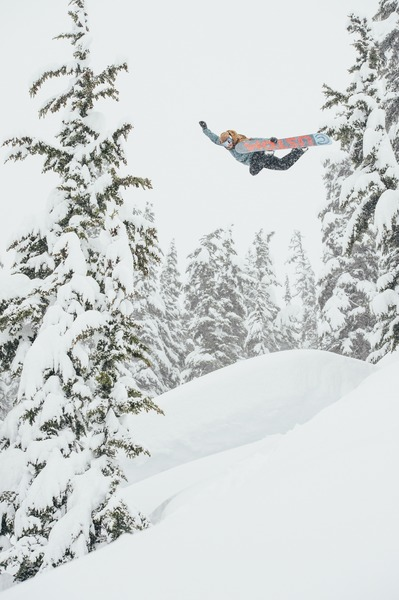 Mikkel with his signature style in BC. Photo: Blotto