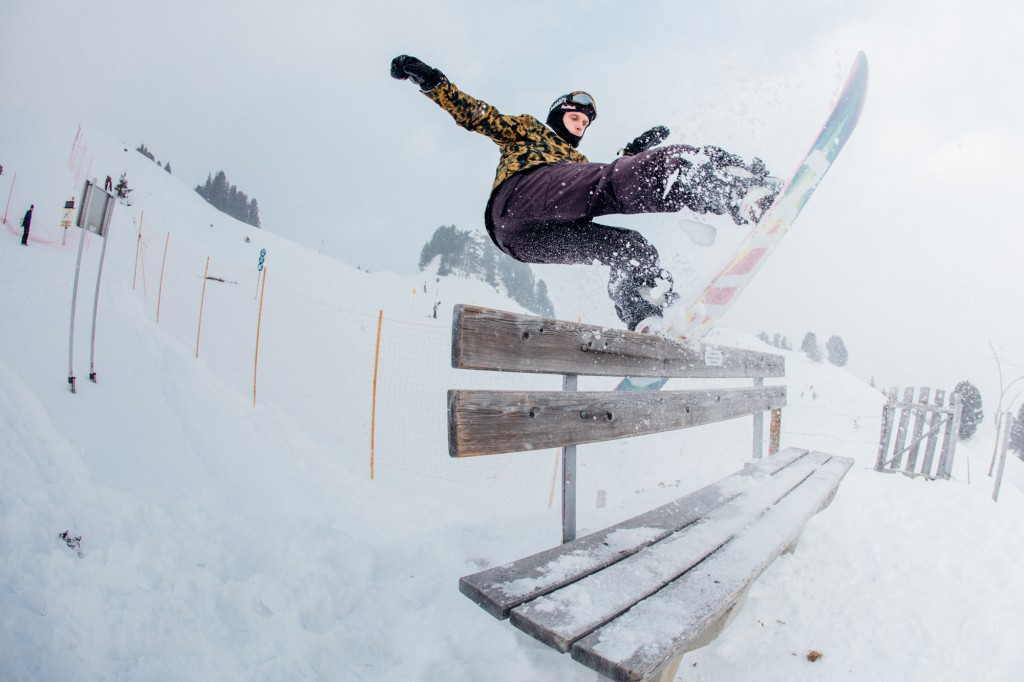 Jibbing Mayrhofen Photo: Matt Georges