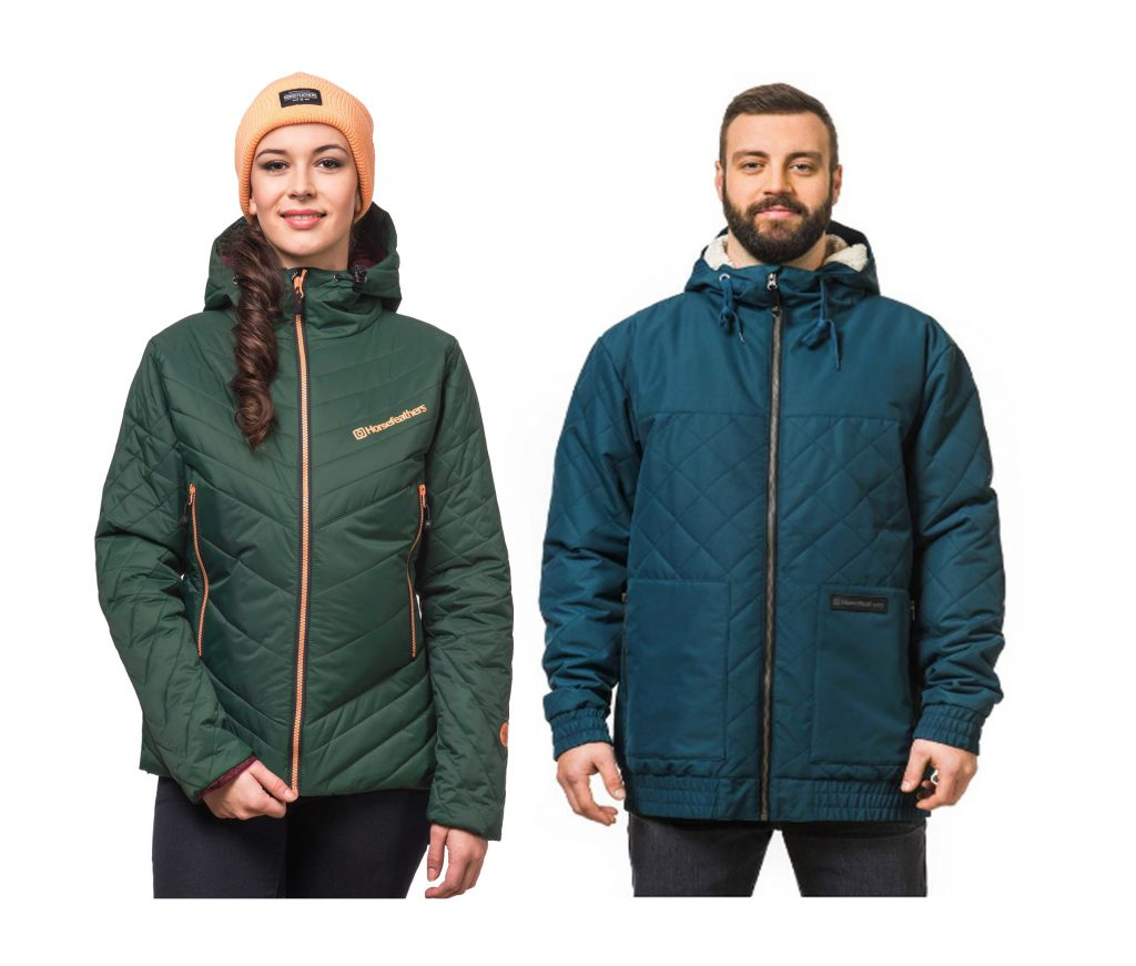 The Dita Olive and Robson jacket