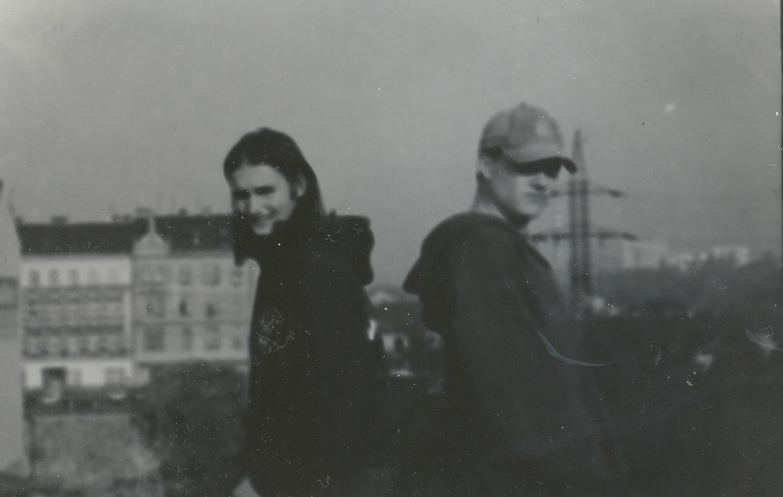 Horsefeathers OG's Hanus Salz and Joel DeVille in 1992. Photo: Horsefeathers