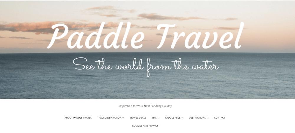 paddle travel
