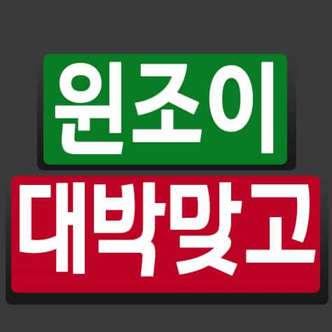HOW TO 윈조이 대박맞고