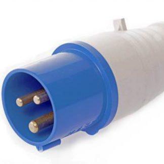 CEE plug 230V blue