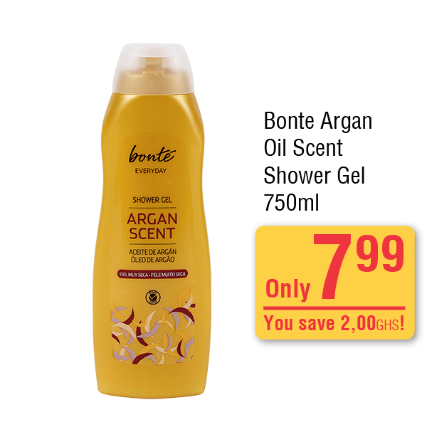 Bonte Argan Oil Scent Shower Gel 750 ml